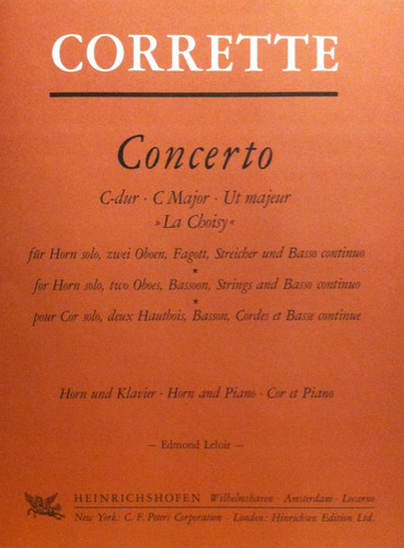 Corrette, Michel - Concerto In C Major