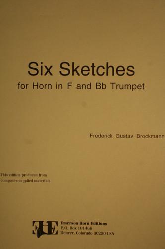 Brockmann, Frederick Gustav - Six Sketches