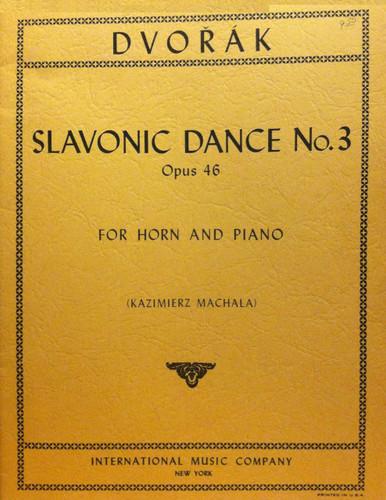 Dvorak, Antonin - Slavonic Dance No.3 Op.46