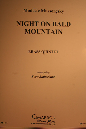Mussorgsky, Modeste - Night On Bald Mountain