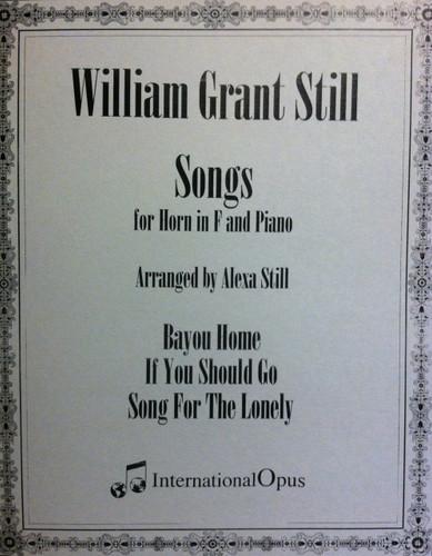 Still, William - Songs For Horn In F