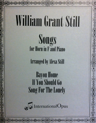 Still, William - Songs for Horn in F (image 1)