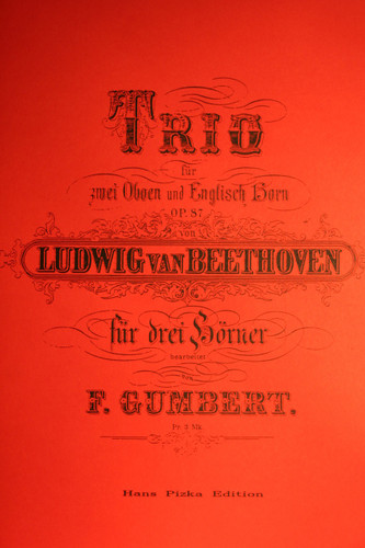 Beethoven, Ludwig - Trios