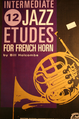 Holcombe, Bill - Intermediate, 12 Jazz Etudes