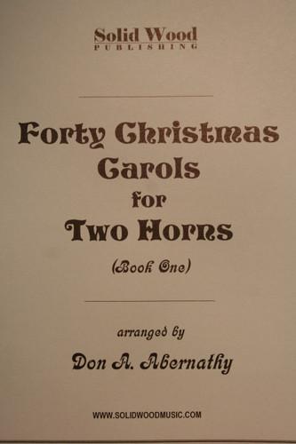 Traditional Christmas - 40 Christmas Carols, Book 1