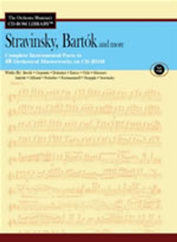 CD-Rom, Vol. 8 - Stravinsky/Bartok
