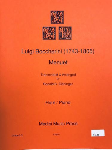 Boccherini, Luigi - Menuet
