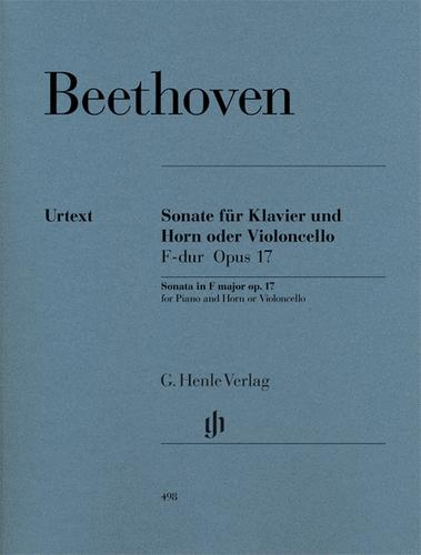 Beethoven, Ludwig - Sonata, Op. 17 (Urtext Ed.)