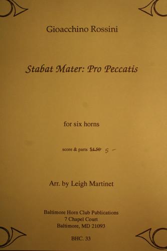 Rossini, Gioacchino - Stabat Mater: Pro Peccatis