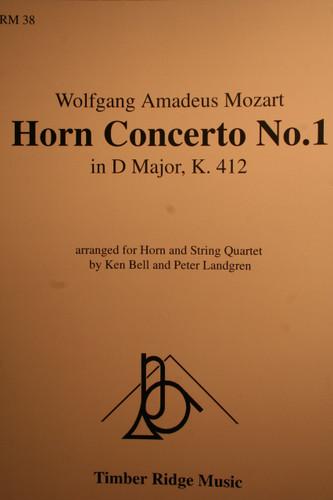 Mozart, W.A. - Horn Concerto No.1 In D Major (K.412)