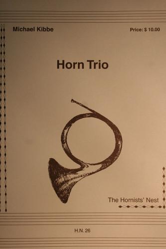 Kibbe, Michael - Horn Trio
