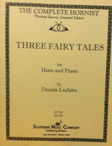 Leclair, Dennis - Three Fairy Tales (image 1)