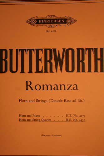 Butterworth - Romanza