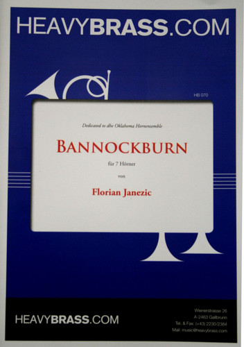 Janezic, Florian - Bannockburn for 7 Horns