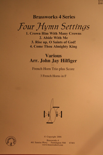 Traditional - Four Hymn Settings