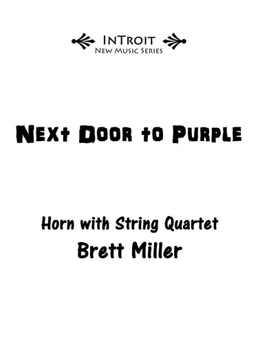 Miller, Brett - Next Door to Purple