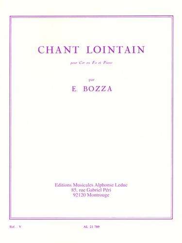 Bozza, Eugene - Chant Lointain