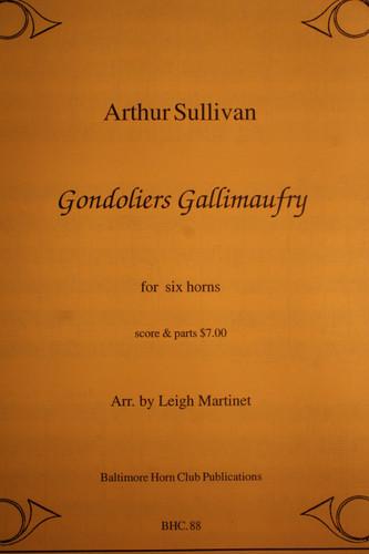 Sullivan, Arthur - Gondoliers Gallimaufry
