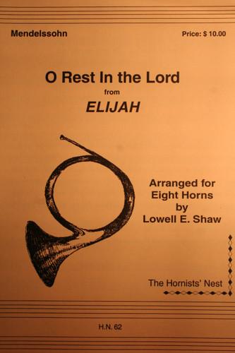 "Mendelssohn, Felix - O Rest In The Lord (from ""Elijah"")"