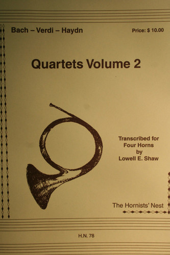 Bach, J.S. - Quartets Vol. 2