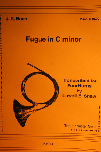 Bach, J.S. - Fugue In C Minor