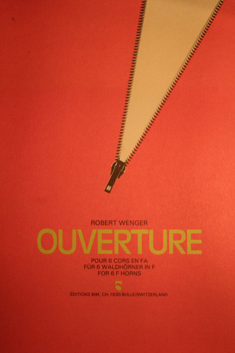 Wenger, Robert - Ouverture