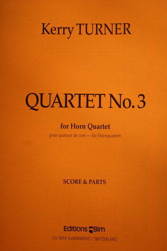 Turner, Kerry - Quartet No. 3