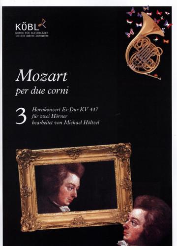 Mozart, W.A - Hornkonzert Es-Dur KV 447 for 2 Horns