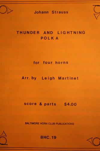 Strauss, Johann - Thunder & Lightning Polka