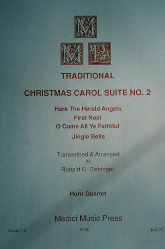 Traditional Christmas - Christmas Carol Suite No. 2