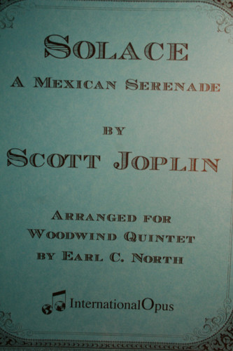 Joplin, Scott - Solace (International Opus Ed.)