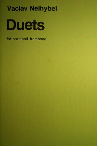 Nelhybel, Vaclav - Duets For Horn & Trombone
