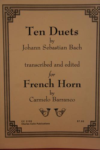 Bach, J.S. - Ten Duets