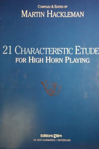 Hackleman, Martin - 21 Characteristic Etudes