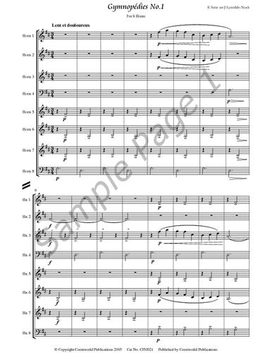 Satie, E. - Gymnopedies, No. 1