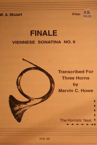 Mozart, W.A. - Finale (Viennese Sonatina No. 6)
