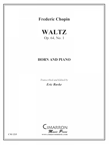 Chopin, Frederic - Waltz, Op. 64, No. 1 (image 1)