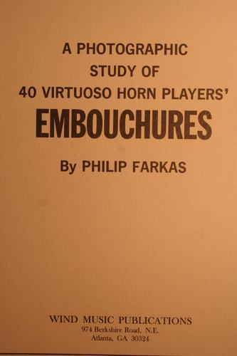 Farkas, Philip - Embouchures