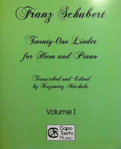 Schubert, Franz - 21 Lieder, Vol.1