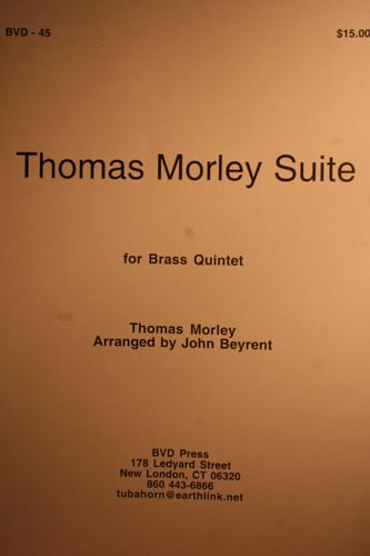 Morley, Thomas - Thomas Morley Suite