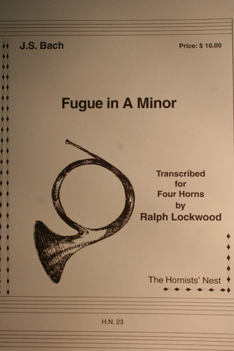 Bach - Fugue in A Minor