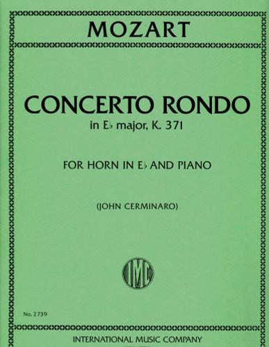 Mozart, W. A. - Concerto Rondo in E-Flat Major (K. 371) (image 1)