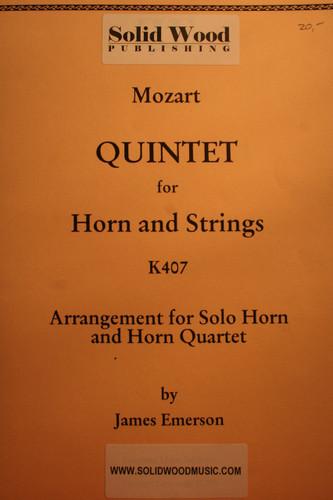 Mozart, W.A. - Quintet (K407)