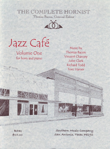 Bacon, Thomas - Jazz Cafe, Volume 1
