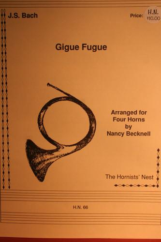 Bach - Gigue Fugue