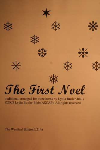 Traditional Christmas - The First Noel