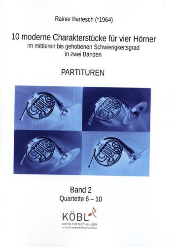 Bartesch, Rainer - 10 moderne CharakterstÌ_cke, Volume 2