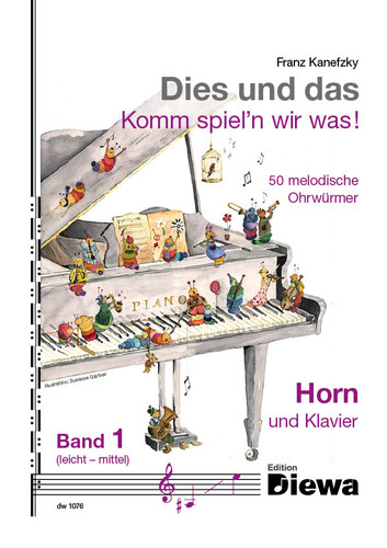 Kanefzky, Franz - Kies un das, 50 Melodies for Horn and Piano