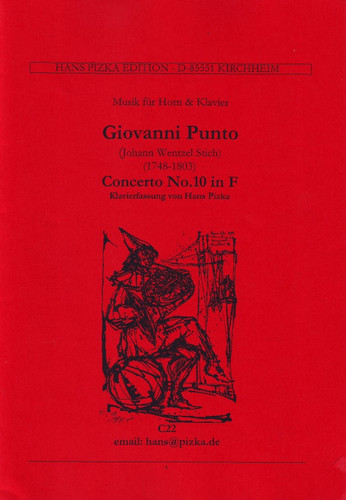Punto, Giovanni and J.W. Stich - Concerto No. 10 (image 1)