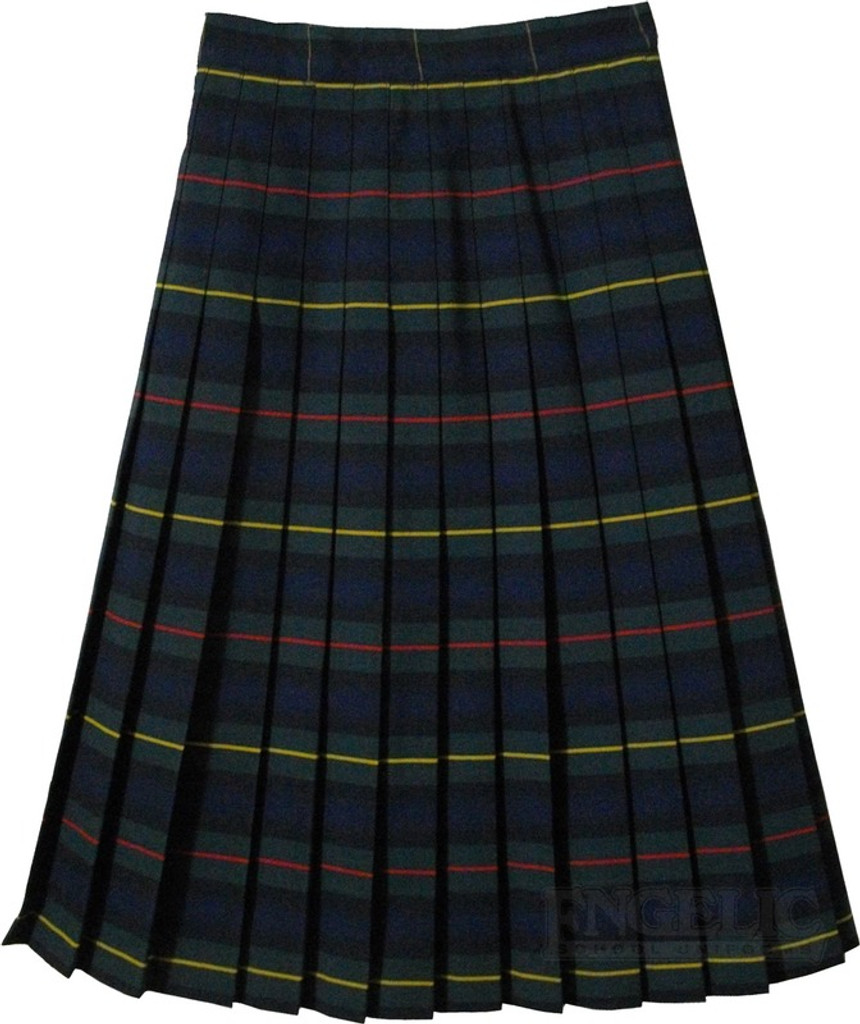 Juniors plaid skirt